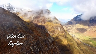 Glen Coe Scotland - Drone Aerial Film