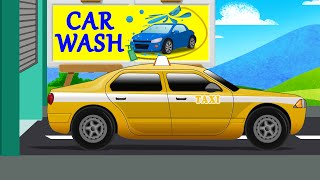 Tokyo Taxi | Car Wash | Taxi for kids & Toddlers