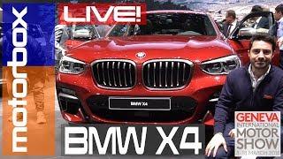 Nuova BMW X4 al Salone di Ginevra 2018: il SUV coupé si rifà il trucco