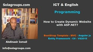 How to Create Dynamic Website with ASP.NET?