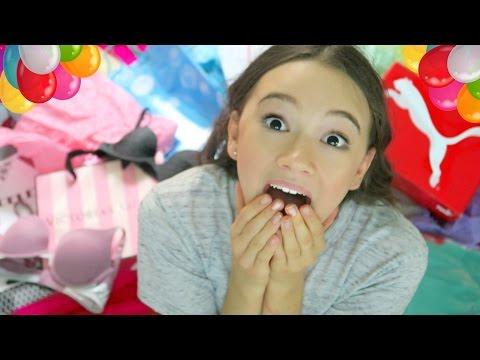 Try-On Birthday Haul / What I Got For My 13th Birthday! (Pink, Forever21, Zara, Urban) Fiona Frills