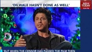 Shah Rukh Khan Upset With 'Dilwale' Collection
