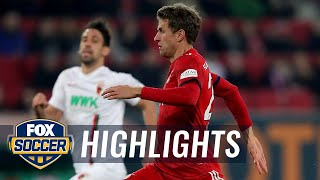 FC Augsburg vs. Bayern Munich | 2019 Bundesliga Highlights