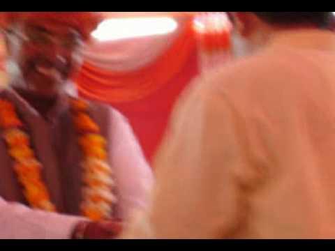 Shri Pabba Ram Ji being honoured by BISHNOI Community in Mumbai