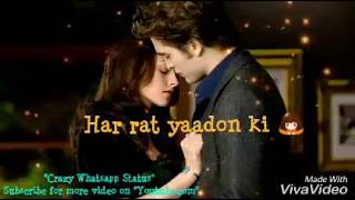 Kiss day Special song for Girls  (Whatsapp Status Video Song) Pal Pal Dil  💙 Ke pass