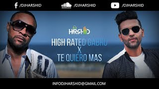 High Rated Gabru vs Te Quiero Mas (Feat. Guru Randhawa and Shaggy) | DJ Harshid