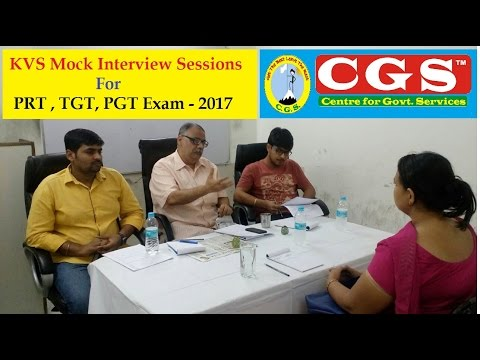 KVS Interview Special Video Series | Real Mock Interview & Micro Teaching || CGS Coaching