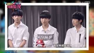 [ENG SUB] 20150907 WAKOO TFBOYS back to school Interview 娱小姐[Clover Production]