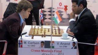 Amazing Game: Magnus Carlsen vs Vishy Anand - Bilbao 2012 - Sicilian Defense: Canal (B52)