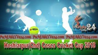 Hoshiarpur (Chd)  Cosco Cricket Cup 2018