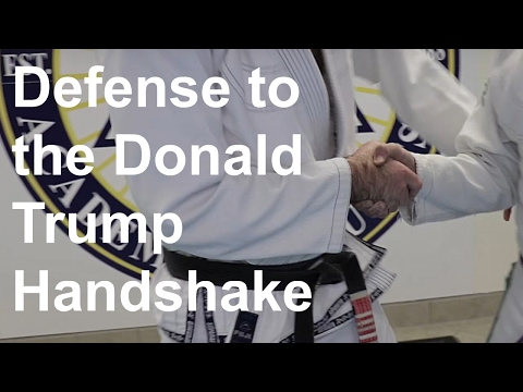 The Defense to the Donald Trump Handshake