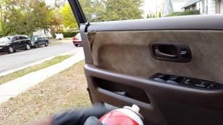 How To Repair Loose Car Door Panel Upholstery - Quick Fix