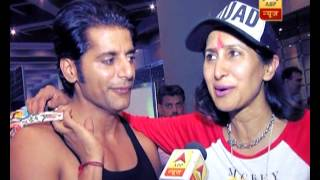 Karanvir Bohra, Teejay Sidhu come to India with their twin baby girls