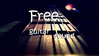 Guitar sound