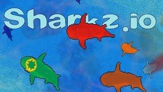 Sharkz.io - Ocean's Biggest Shark! - Sharkz.io Gameplay - Brand New .IO Game