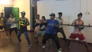 ZUMBA champion Dj Bravo choreo BY Michael