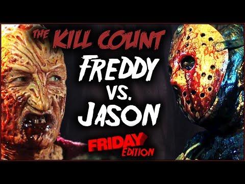 Freddy vs. Jason (2003) KILL COUNT