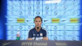 Live! Conferenza stampa Frank de Boer Inter-Southampton 13:30CEST 19.10.2016CEST