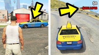 WHAT HAPPENS IF YOU RUN OUT OF CASH IN A TAXI? (GTA 5)