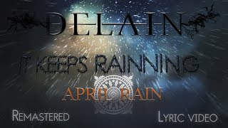 Delain - April Rain (Fan-remastered & Lyric Video) [HD,HQ, album versión + traducción al Español]