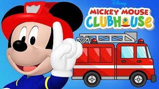Mickey Mouse Clubhouse - Mickey Fire Truck Kitten Rescue Minnie Mouse Disney Junior
