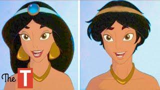 10 Disney Princesses Reimagined As Opposite Genders