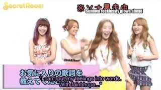 [eng sub] Secret - Twinkle Twinkle release comments (June 2012)