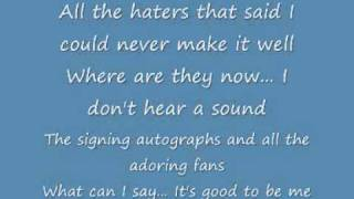 Fred Figglehorn - I Wanna Be A Celebrity Lyrics!