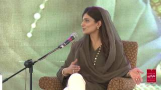 KLF-2016: Omayr Aziz Saiyid in Conversation with Hina Rabbani Khar (7.2.2016)