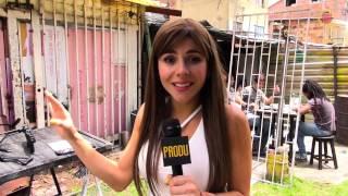 """Detrás de cámaras de """"Sin senos sí hay paraíso"""" con Carolina Gaitán"""