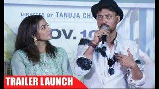Qarib Qarib Single Trailer Launch Irrfan Khan And Parvathy UNCUT FULL