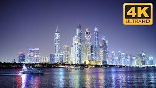 Amazing Cityscape in 4K Resolution: Dubai City at Night