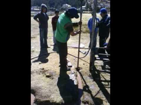 perforadora de pozo de agua