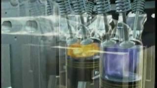 Motor do Automóvel funcionamento vídeo - Automotive engine video operation