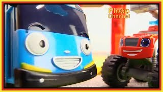 TAYO the FIRE BUS saves Peppa Pig! - Videos for kids with Toy Cars & Toy Bus 타요