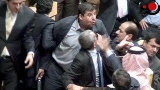 نائب أردني يطلق النار بكلاشنيكوف على زميله داخل البرلمان