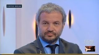 Claudio Borghi Aquilini Coffee Break Ripresa Economica Voragine Firenze 26/05/2016
