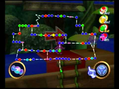 Mario Party 8 DK s Treetop Temple 4 Player Full Game