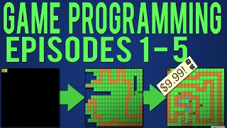 Java Game Programming Episodes 1-5: Starting our Game