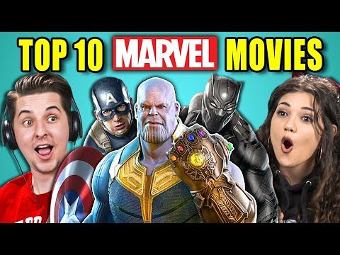 Xxx Mp4 COLLEGE KIDS REACT TO TOP 10 MARVEL MOVIES OF ALL TIME 3gp Sex