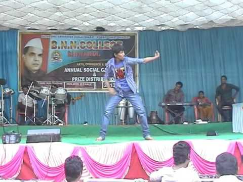 B.N.N COLLEGE | STEPPERS | Rajkiran performance | Cap tricks | Bhiwandi