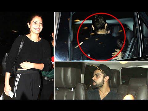 Watch Virat Kohli CAUGHT KISSING Anushka Sharma at the AIRPORT