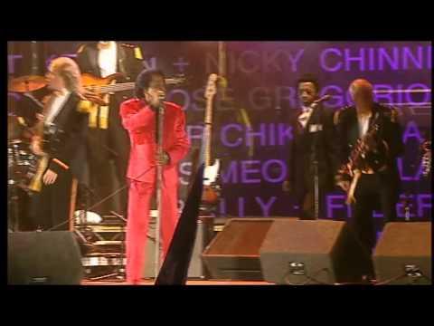 James Brown - I Feel Good (Live 8, Edinburgh 2005)