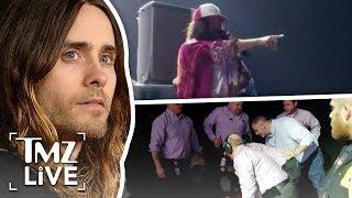 Jared Leto Turns Into Jesus Onstage | TMZ Live