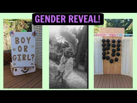 Gender Reveal Party With A SURPRISE TWIST KAT & MATT