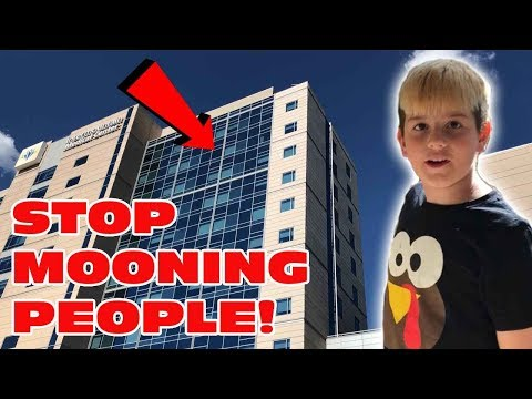 Xxx Mp4 Kid Temper Tantrum Mooning From A 15 Story Building During Hospital Visit Original 3gp Sex