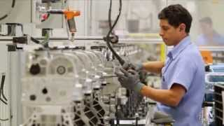 Sabe como funciona uma fábrica de motores?