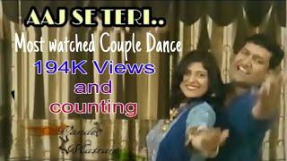 Aaj Se Teri     Couple Dance    Padman Movie   Gauri & Rocky
