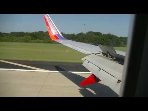 Southwest Airlines 737 700 Landing in Tampa