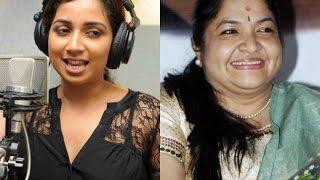 Singer Chithra complains against Shreya Ghoshal | Hot Tamil Cinema News | Songs